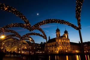 Blaue Stunde in Luzern
