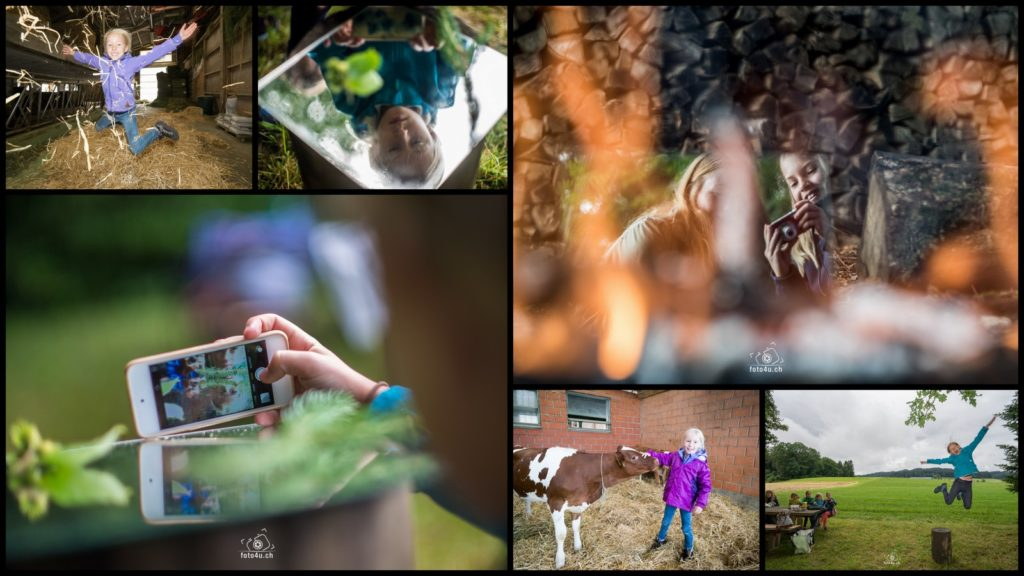 Fotografieren auf dem Erlihof (Ferienpass 2016 Region Sursee)