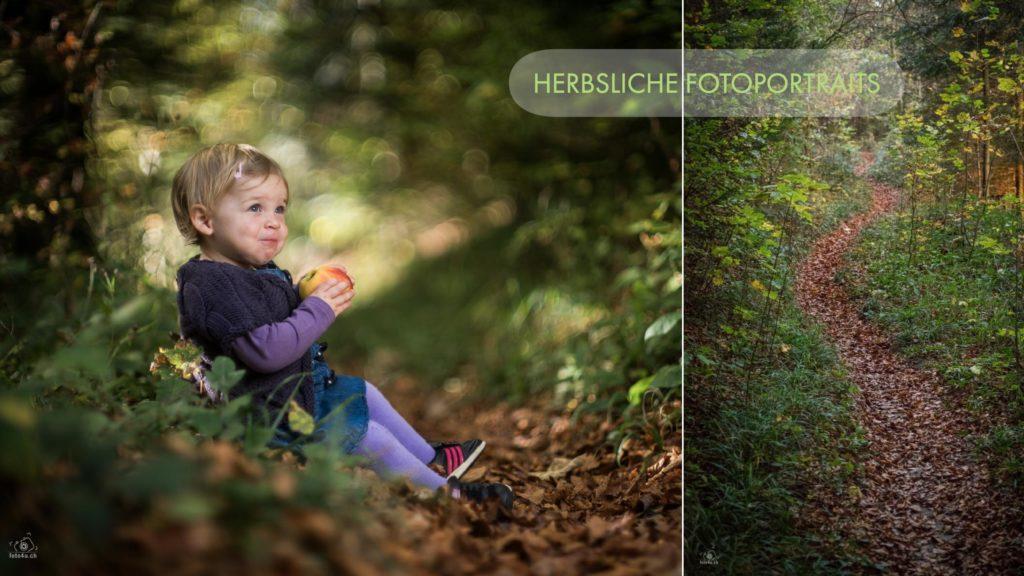 Fotoshooting im Herbst
