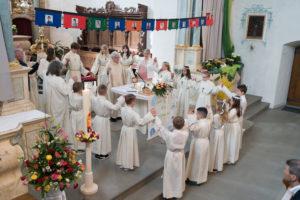 Weisser Sonntag in Winikon 15. April 2018