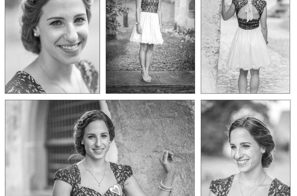 Portraits von Hochzeitsgästen